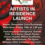 Artists in Residence at the Doncaster Corn exchange - Launch
