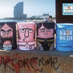 BLOK HED POP UPS - STREET ART
