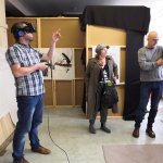 Artist Builds Virtual Worlds in Empty Doncaster Shop