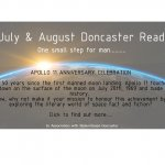 July& August Doncaster Read one small step for man