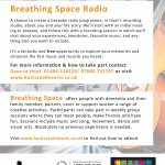 Free personalised radio show recording | Breathing Space Radio