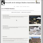 Petworth Art and Antique Dealers / PAADA: The Petworth Art and Antique Dealers Association